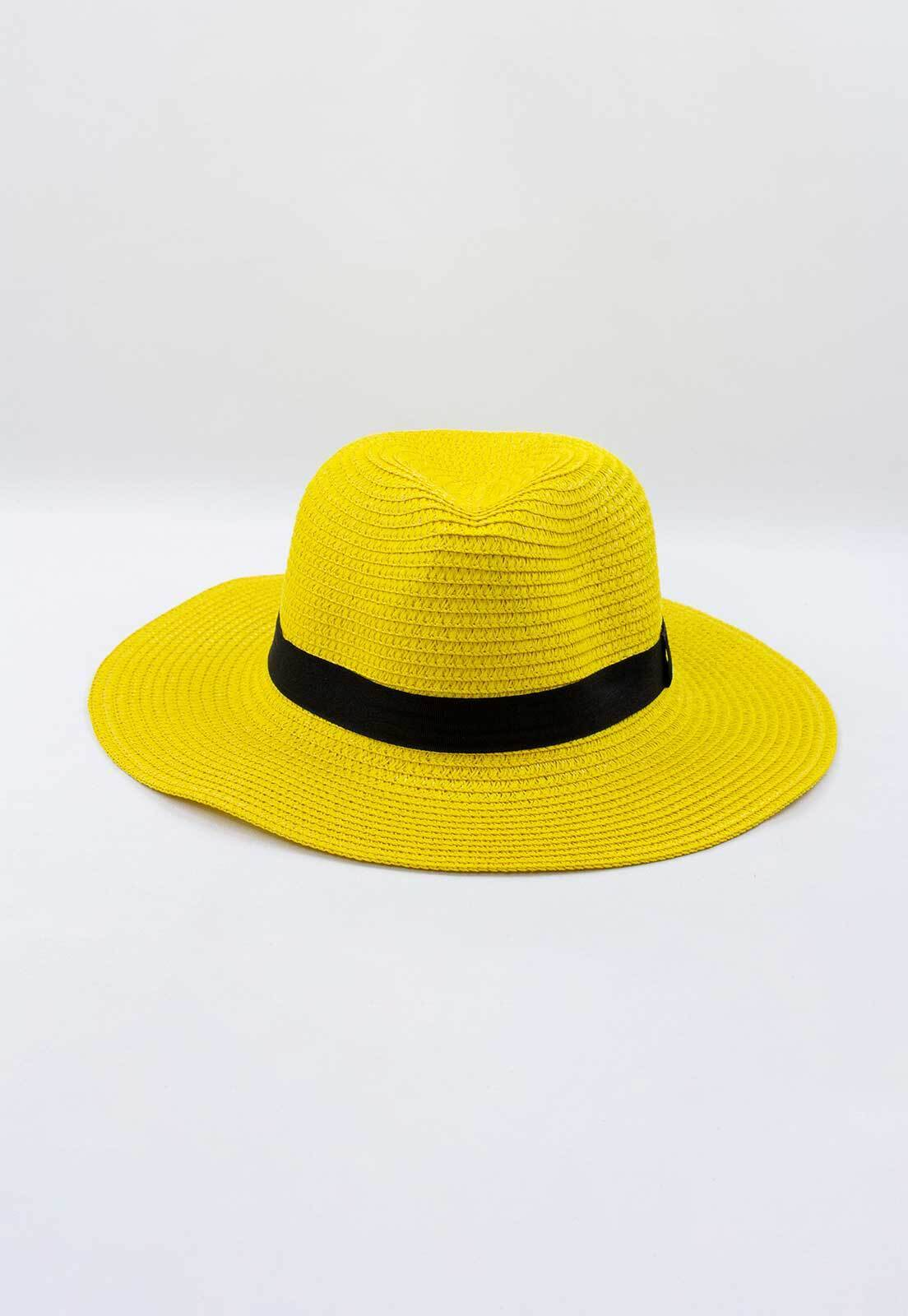 Chapéu Crisfael de Palha