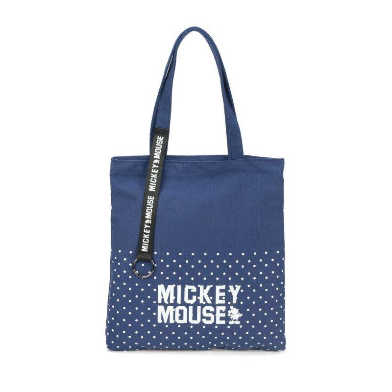 Bolsa Feminina Tote Disney Mickey Azul