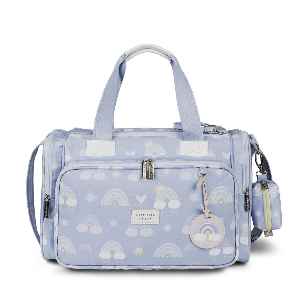 Bolsa Maternidade Anne Com Bolso Térmico Arco-íris Masterbag