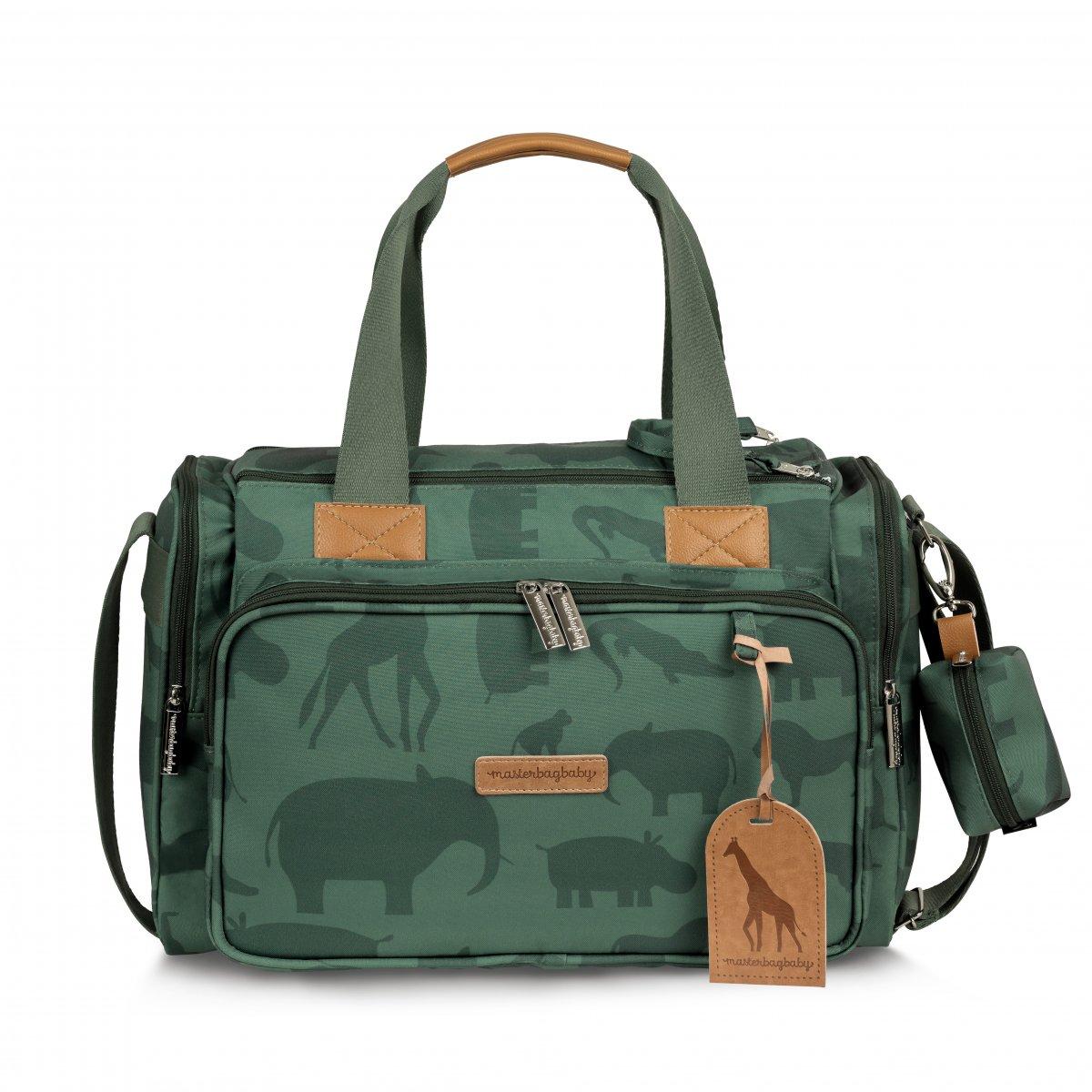 Bolsa Maternidade Anne Com Bolso Térmico Safari Masterbag