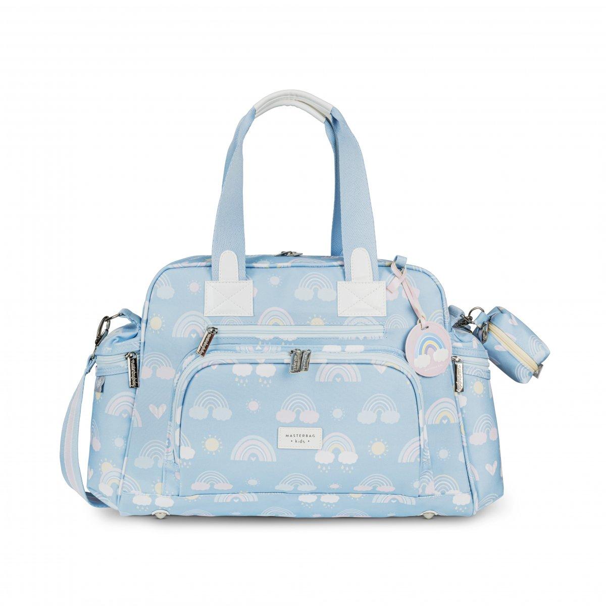 Bolsa Maternidade Everyday com Bolso Térmico Arco-íris Masterbag