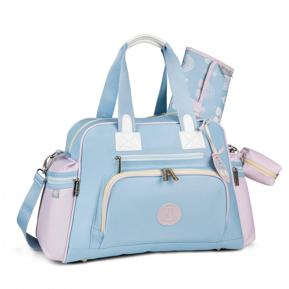 Bolsa Maternidade Everyday com Bolso Térmico Colors Masterbag   Cor: Azul