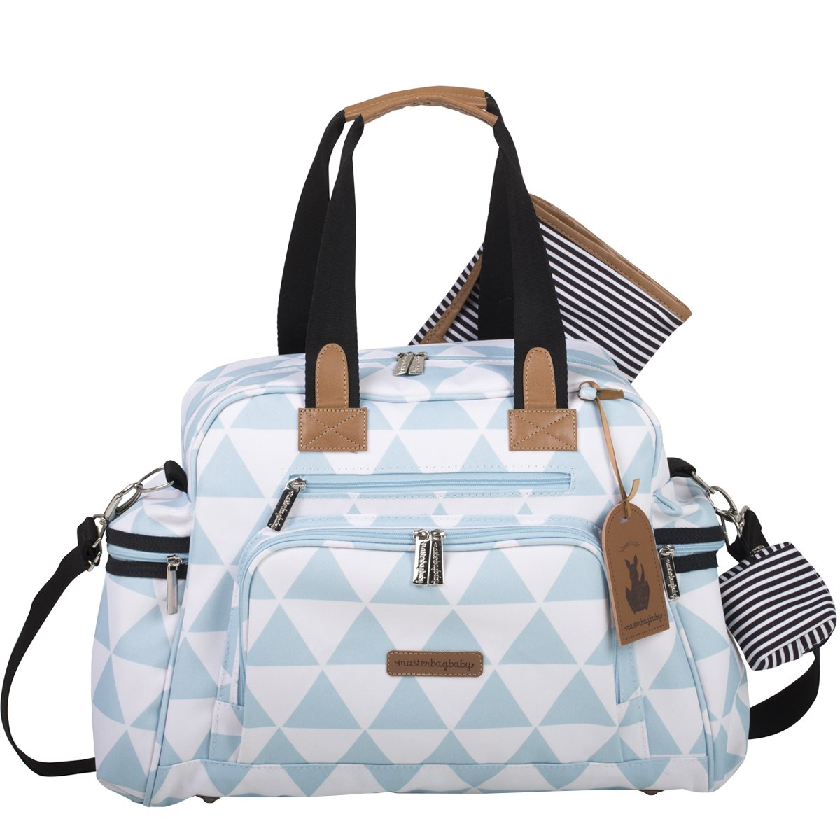 Bolsa Maternidade Everyday Manhattan Masterbag | Cor: Azul
