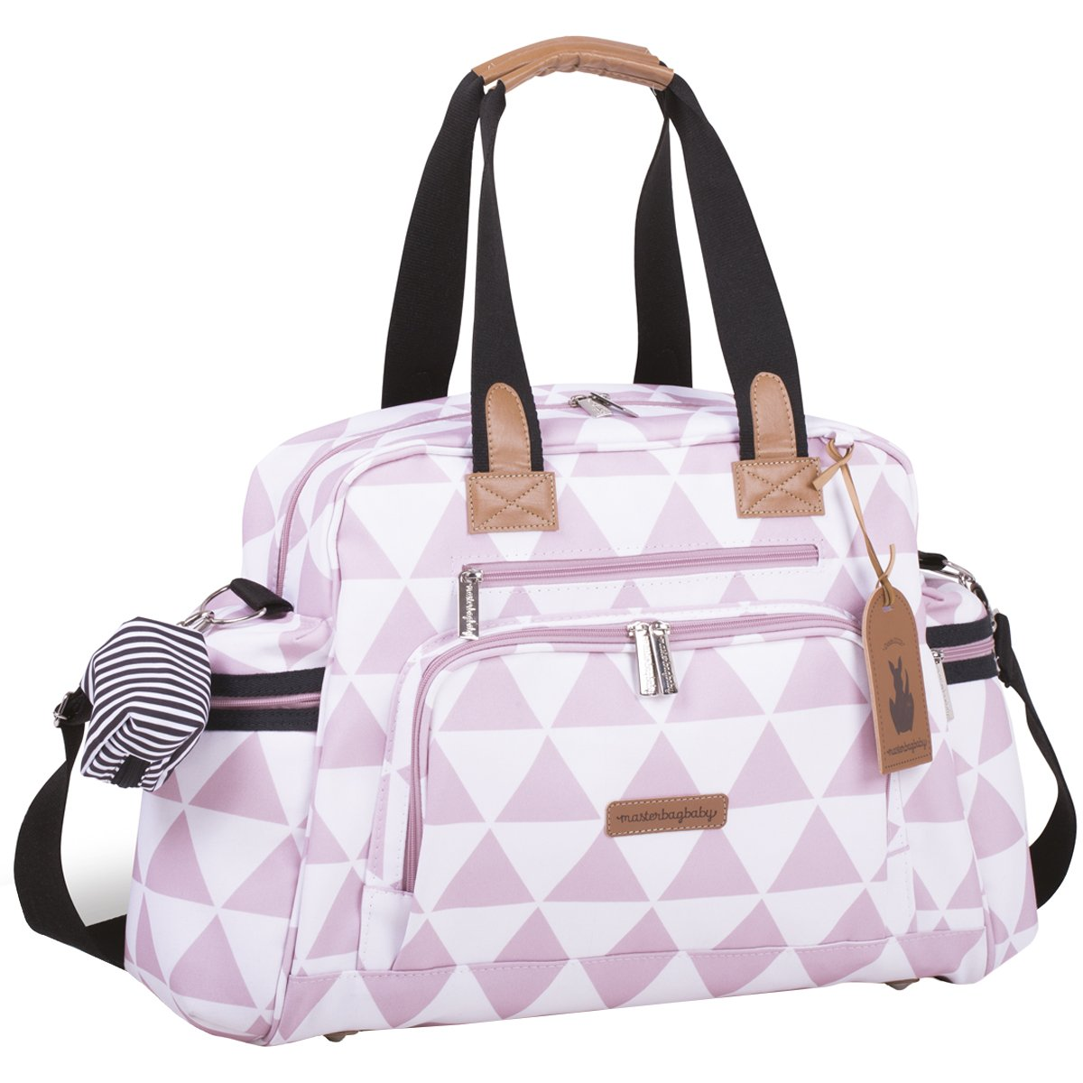 Bolsa Maternidade Everyday Manhattan Masterbag | Cor: Rose