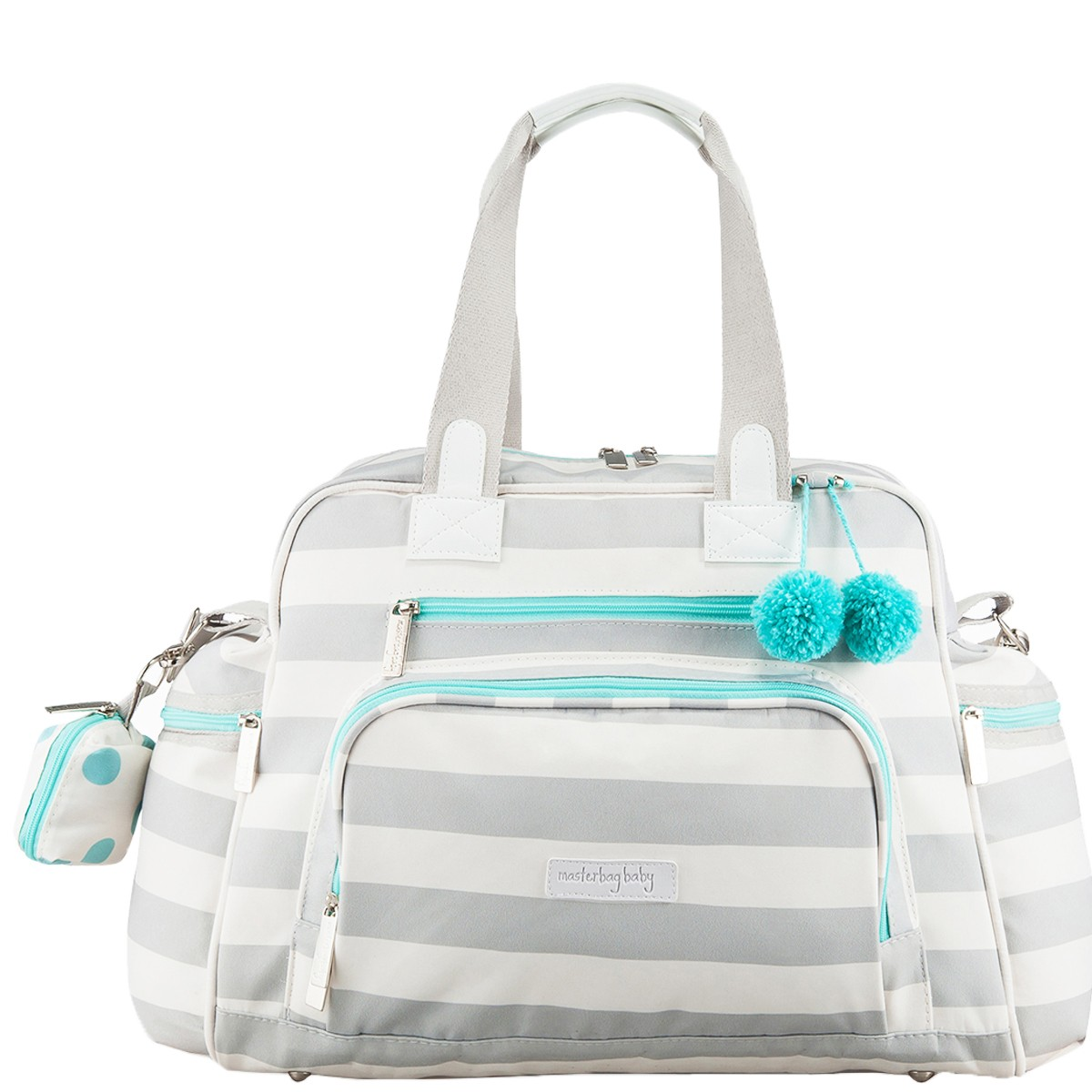 Bolsa Maternidade Everyday Masterbag Candy Colors   Cor: Ice Menta