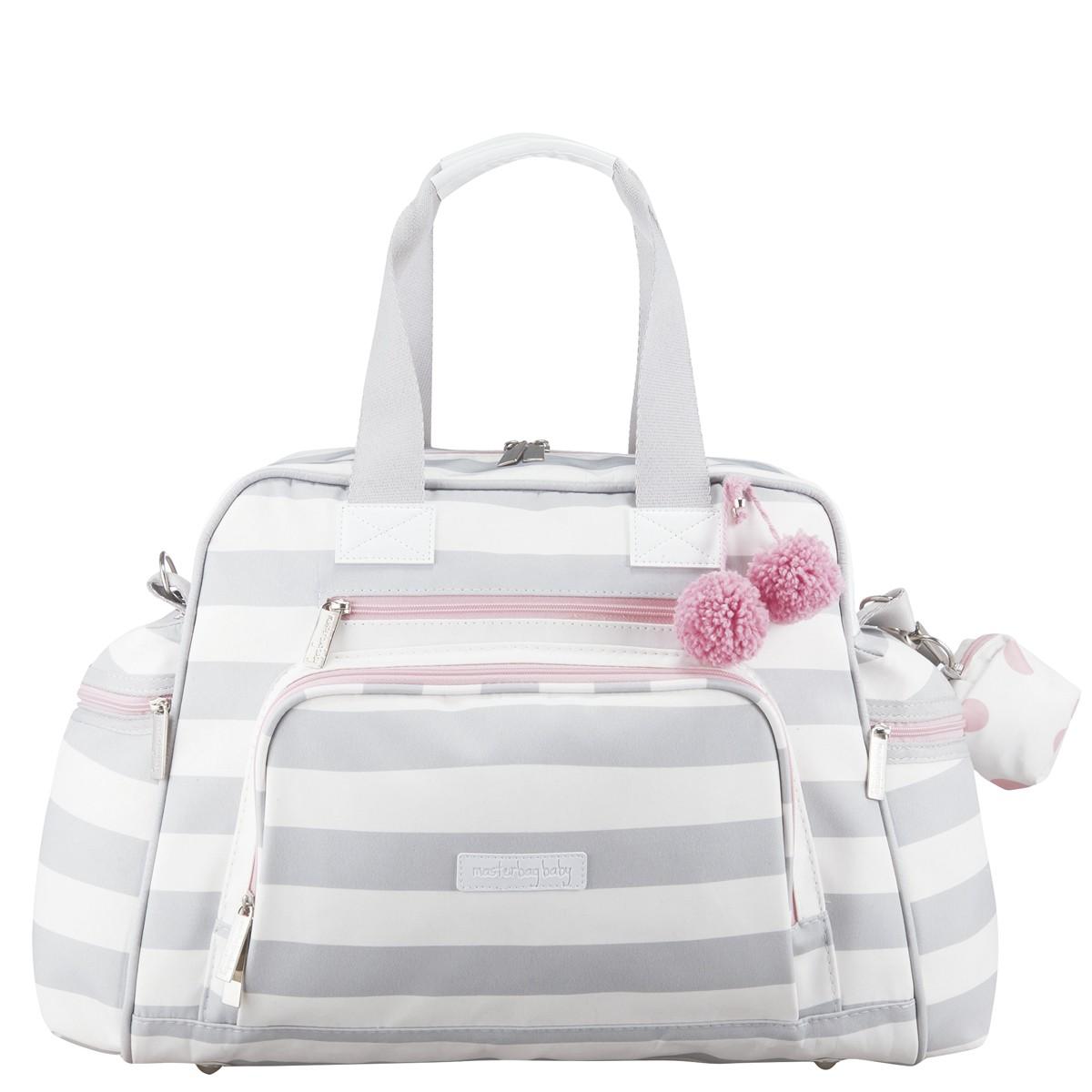 Bolsa Maternidade Everyday Masterbag Candy Colors   Cor: Ice Pink