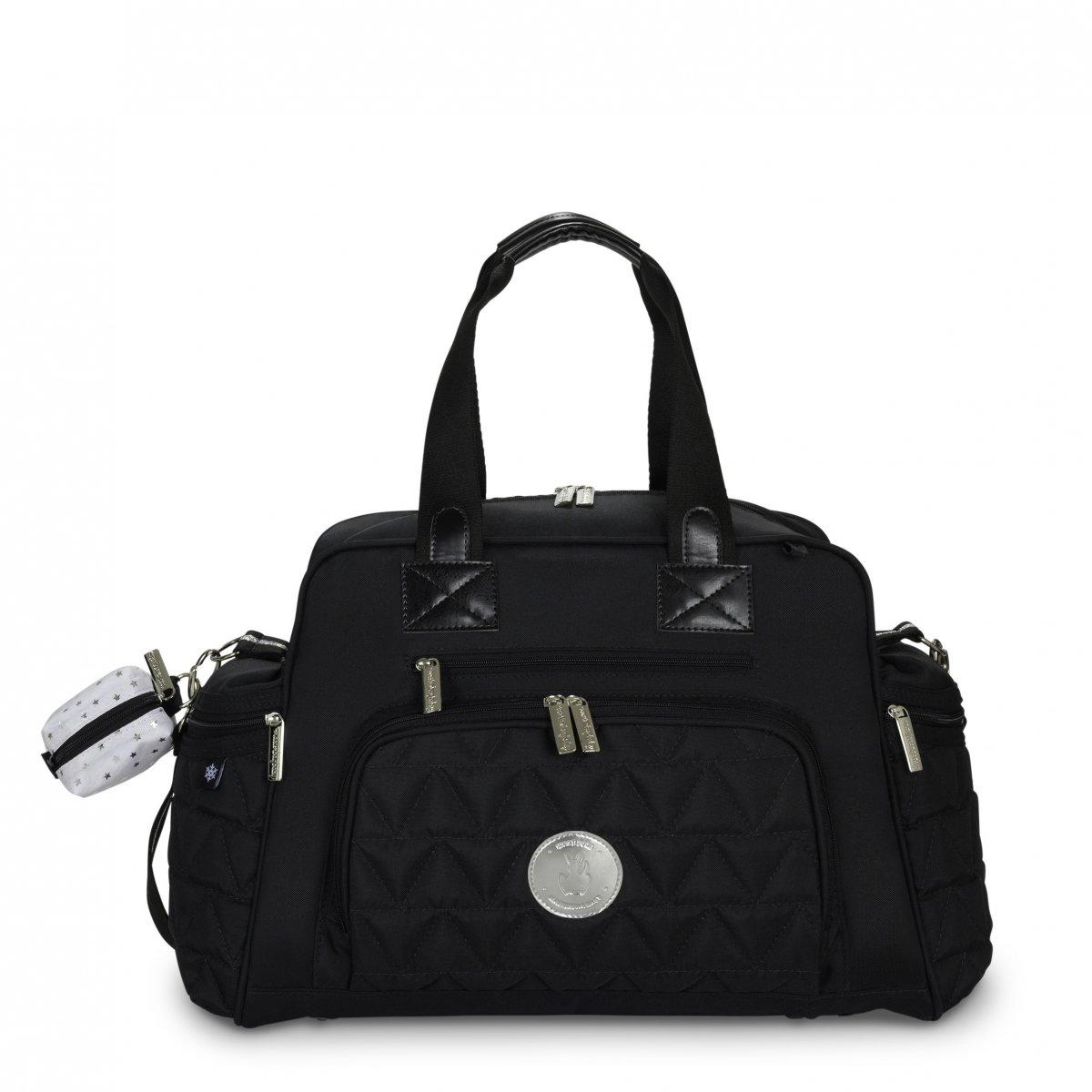 Bolsa Maternidade Everyday Nylon Masterbag | Cor: Preto