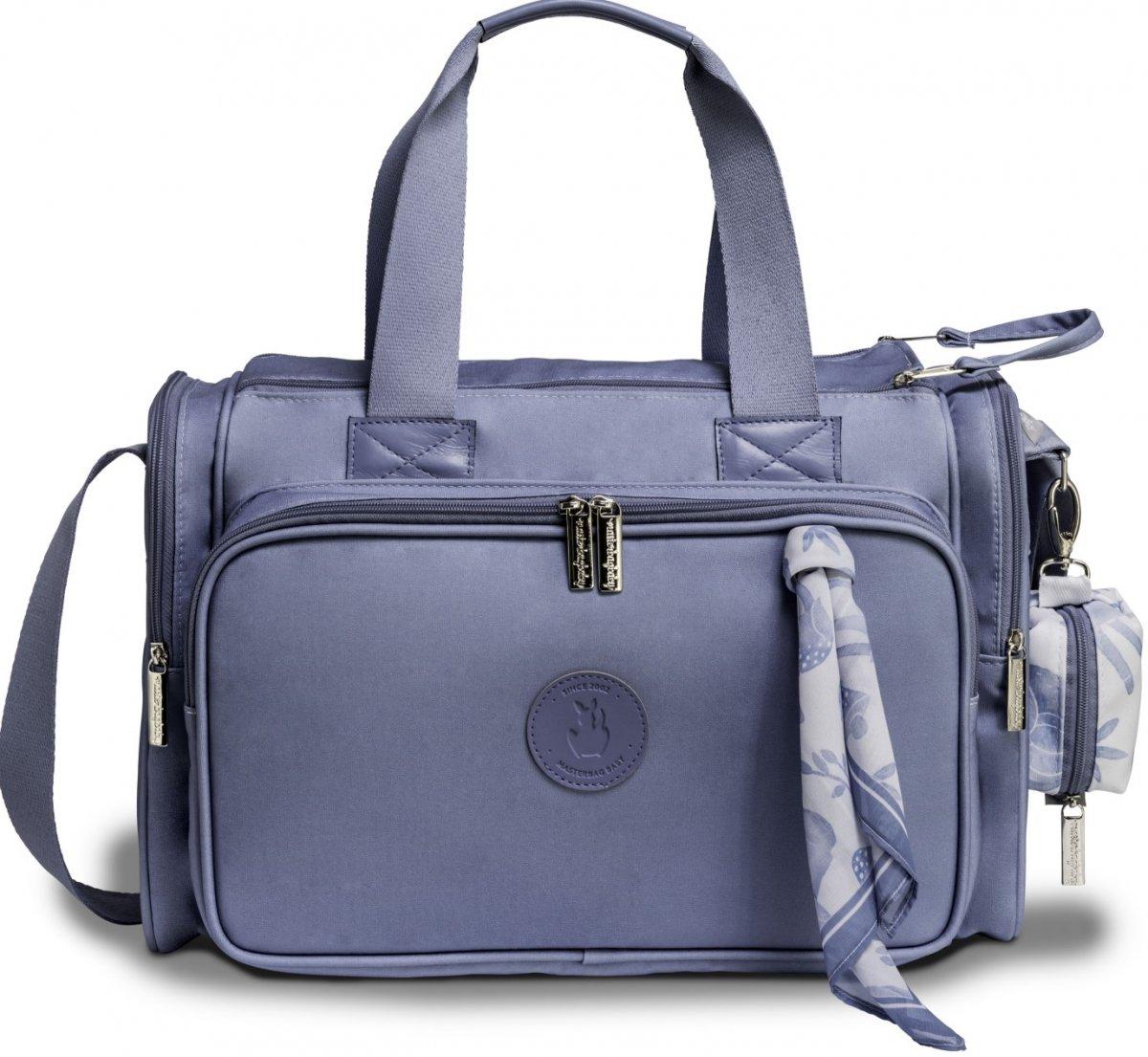 Bolsa Maternidade Masterbag Baby Anne Fauna   Cor: Azul