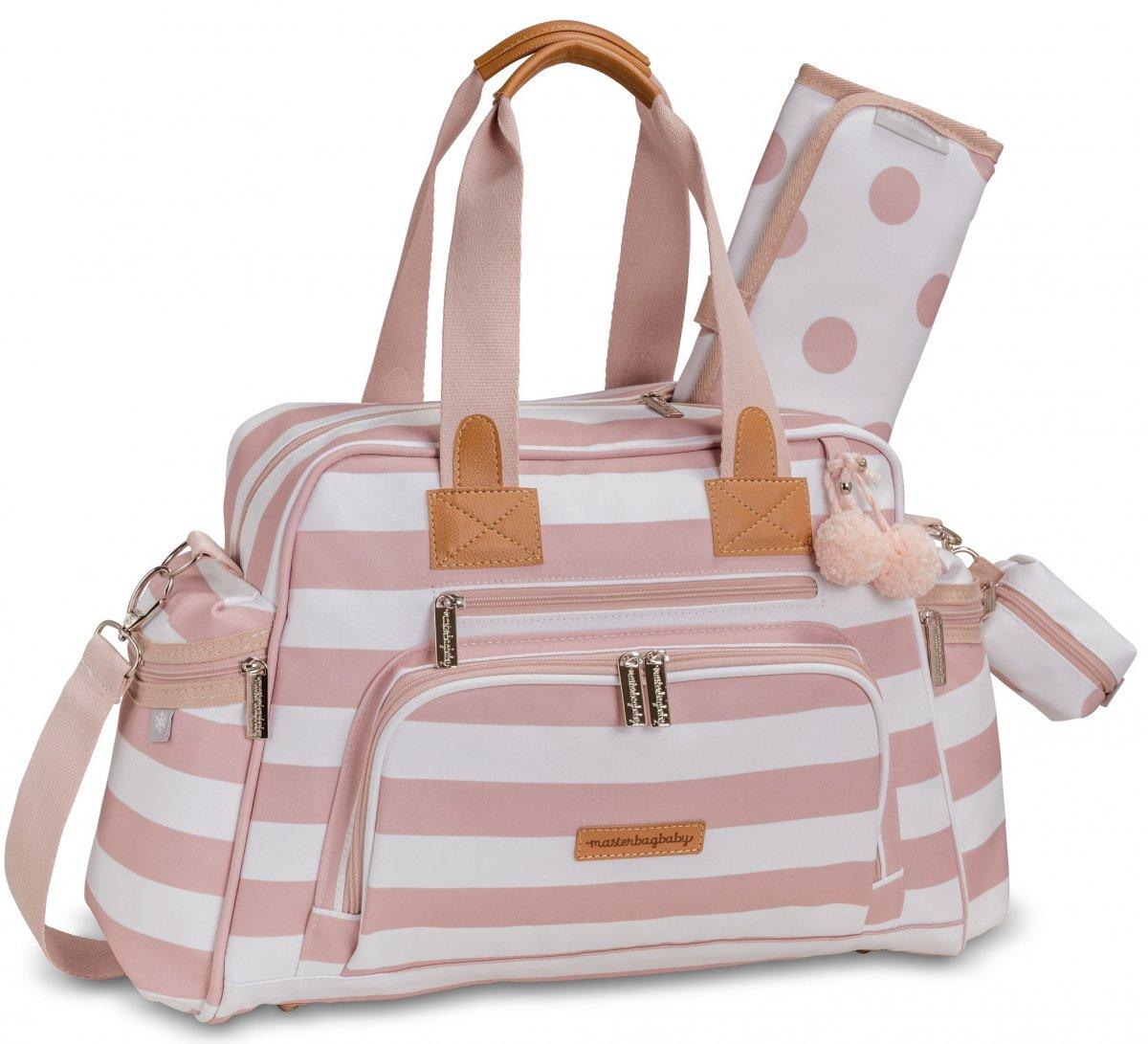 Bolsa Maternidade Masterbag Baby Everyday Brooklyn   Cor: Rosa