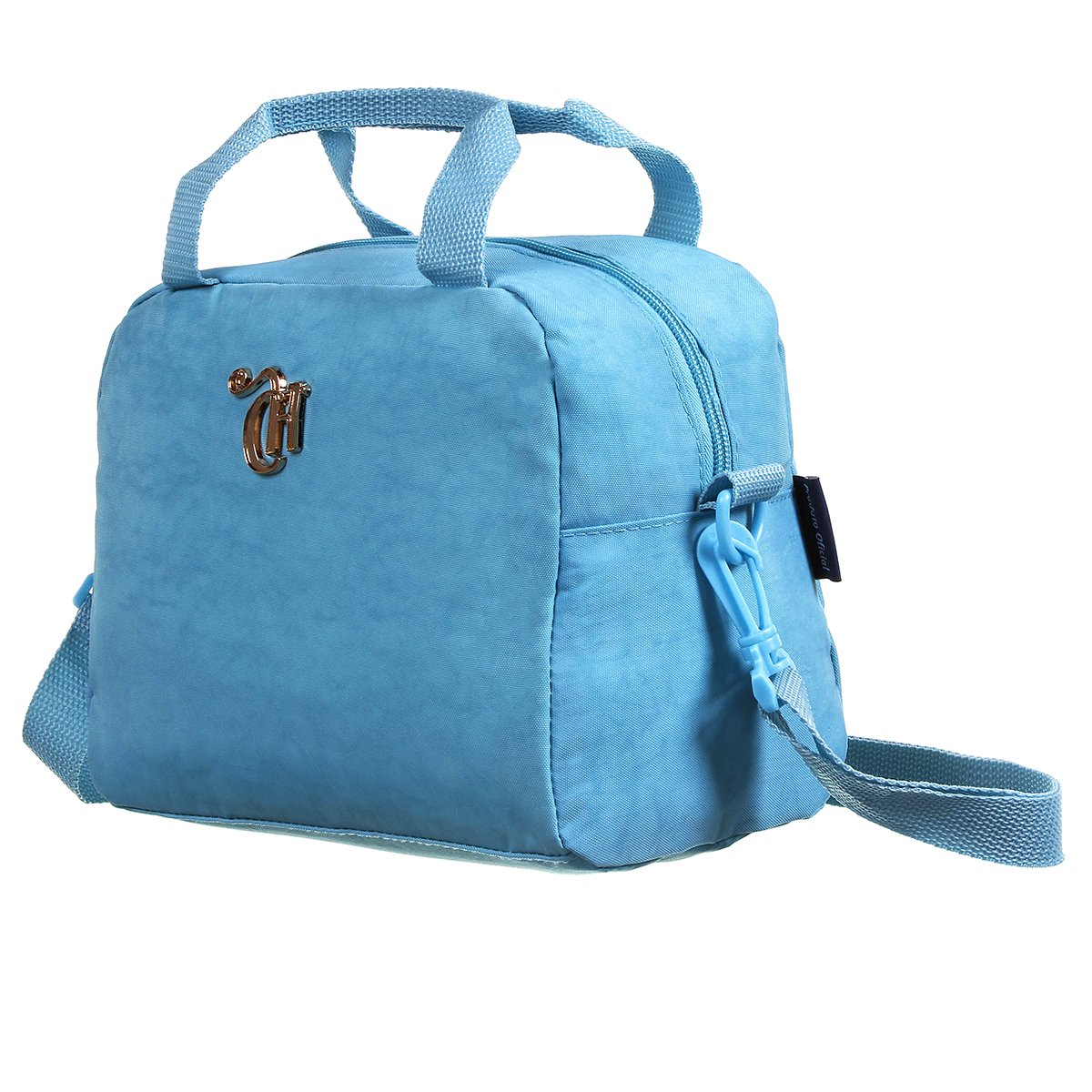 Bolsa Térmica Capricho Crinkle | Cor: Azul