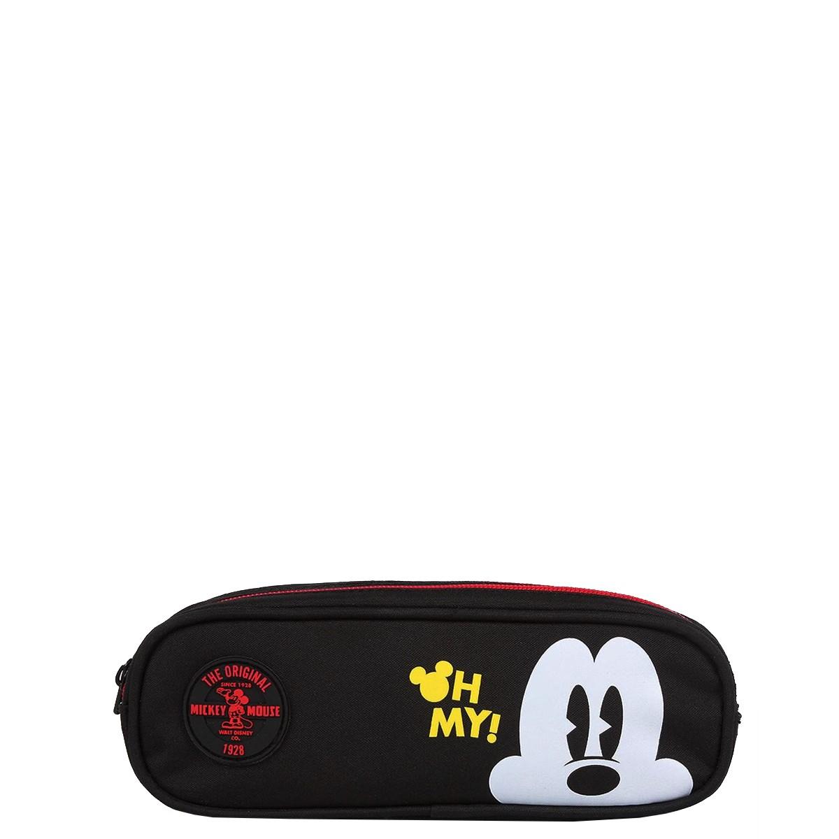 Estojo Triplo Disney Mickey Oh My!   Cor: Preto