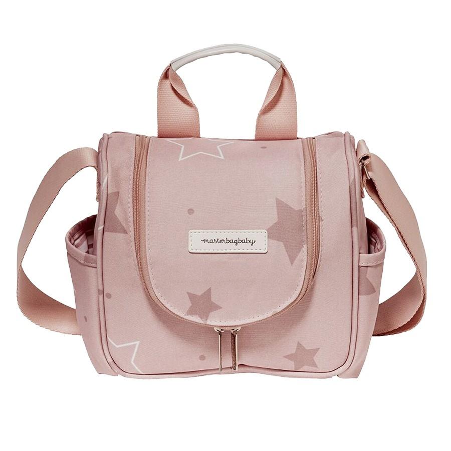 Frasqueira Maternidade Térmica Masterbag Emy Estrelas Rose