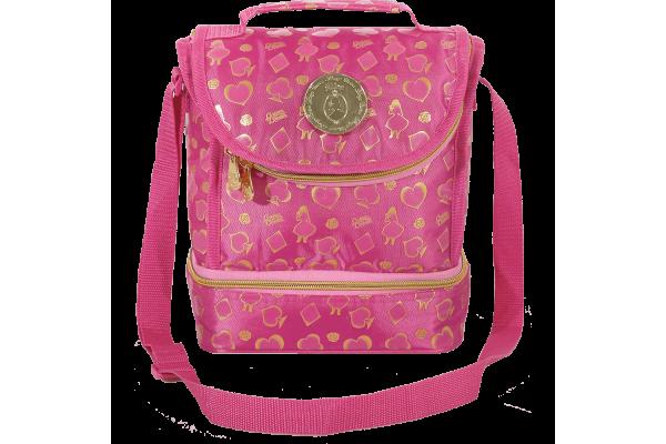 Lancheira Térmica Alice Disney Aventureira | Cor: Rosa