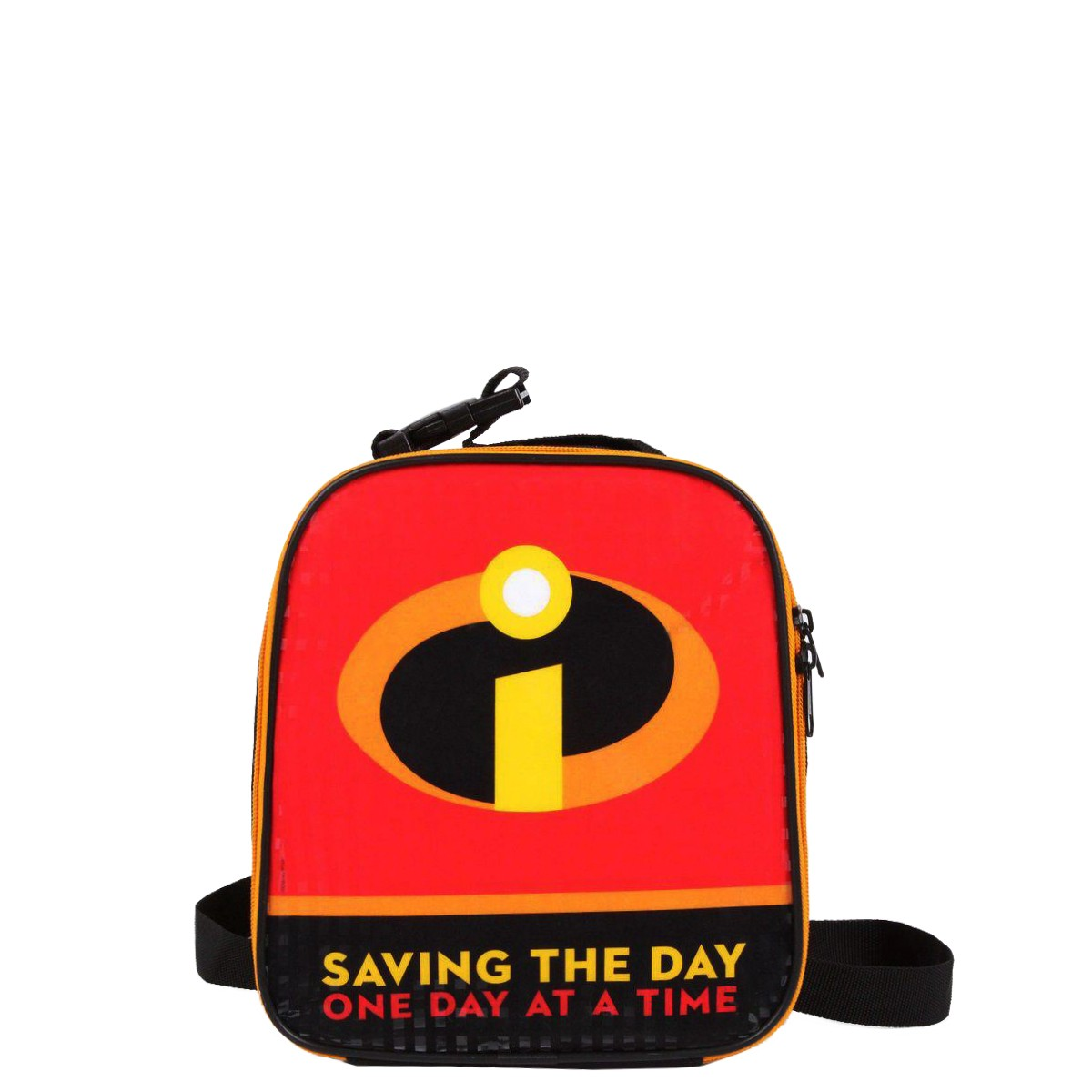 Lancheira Térmica Disney Os Incríveis Saving the Day | Cor: Preto