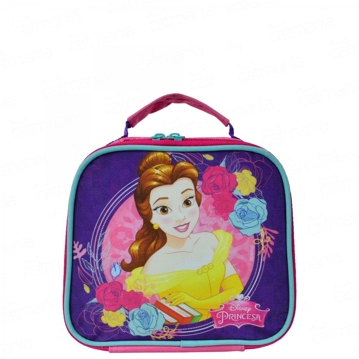 Lancheira Térmica Disney Princesa Bela | Cor: Bela