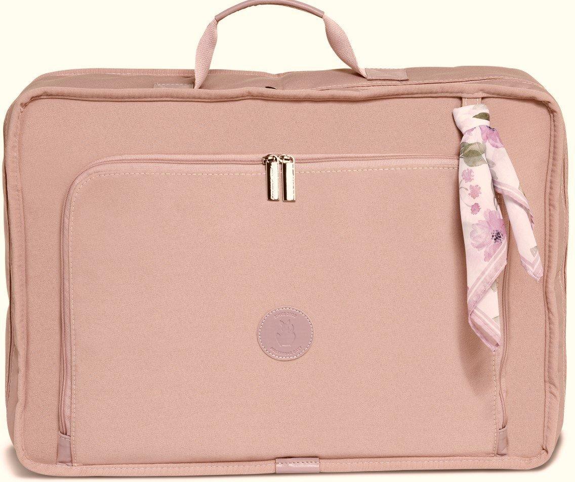 Mala Maternidade Masterbag Baby Vintage Flora   Cor: Rose