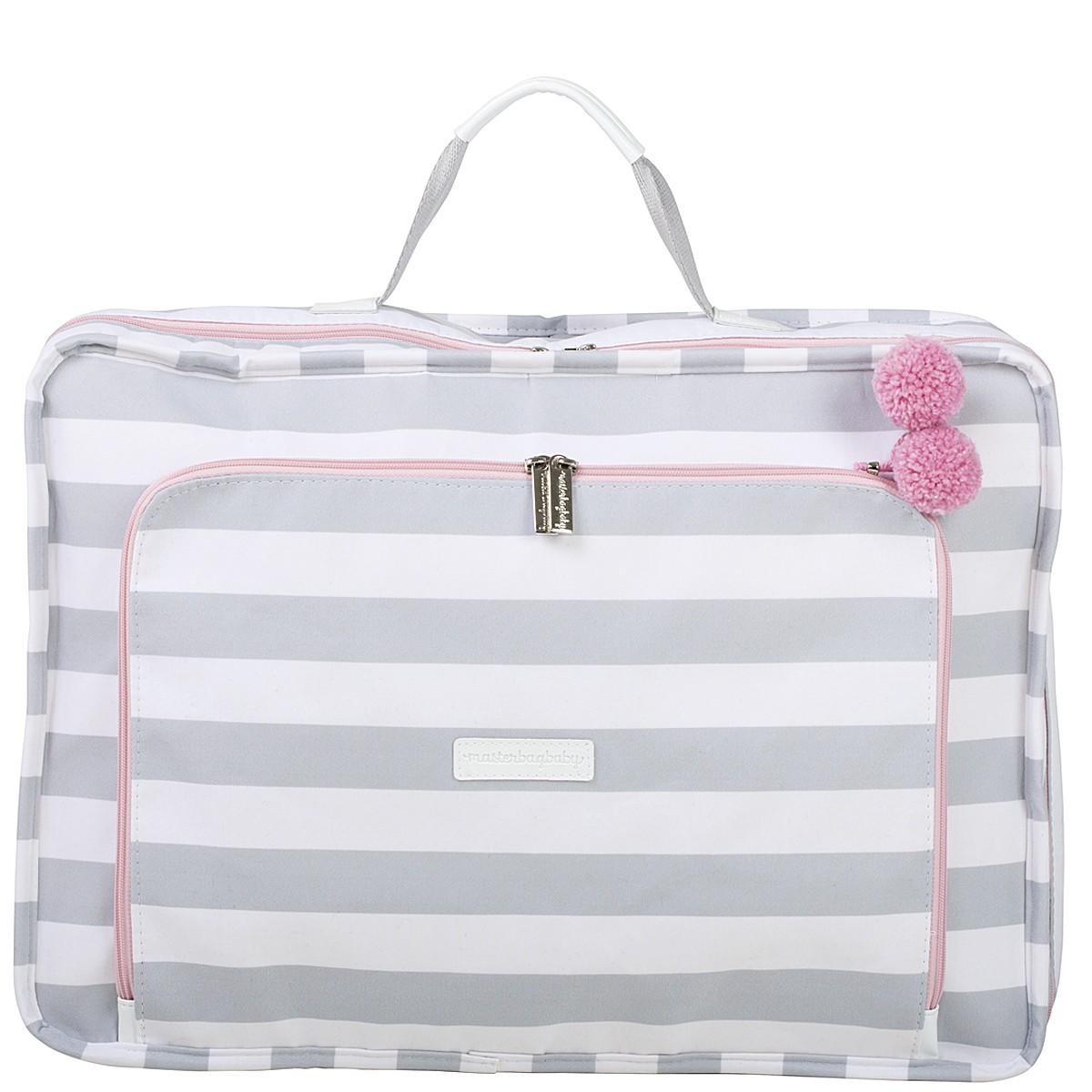 Mala Maternidade Masterbag Vintage Candy Colors Ice Pink