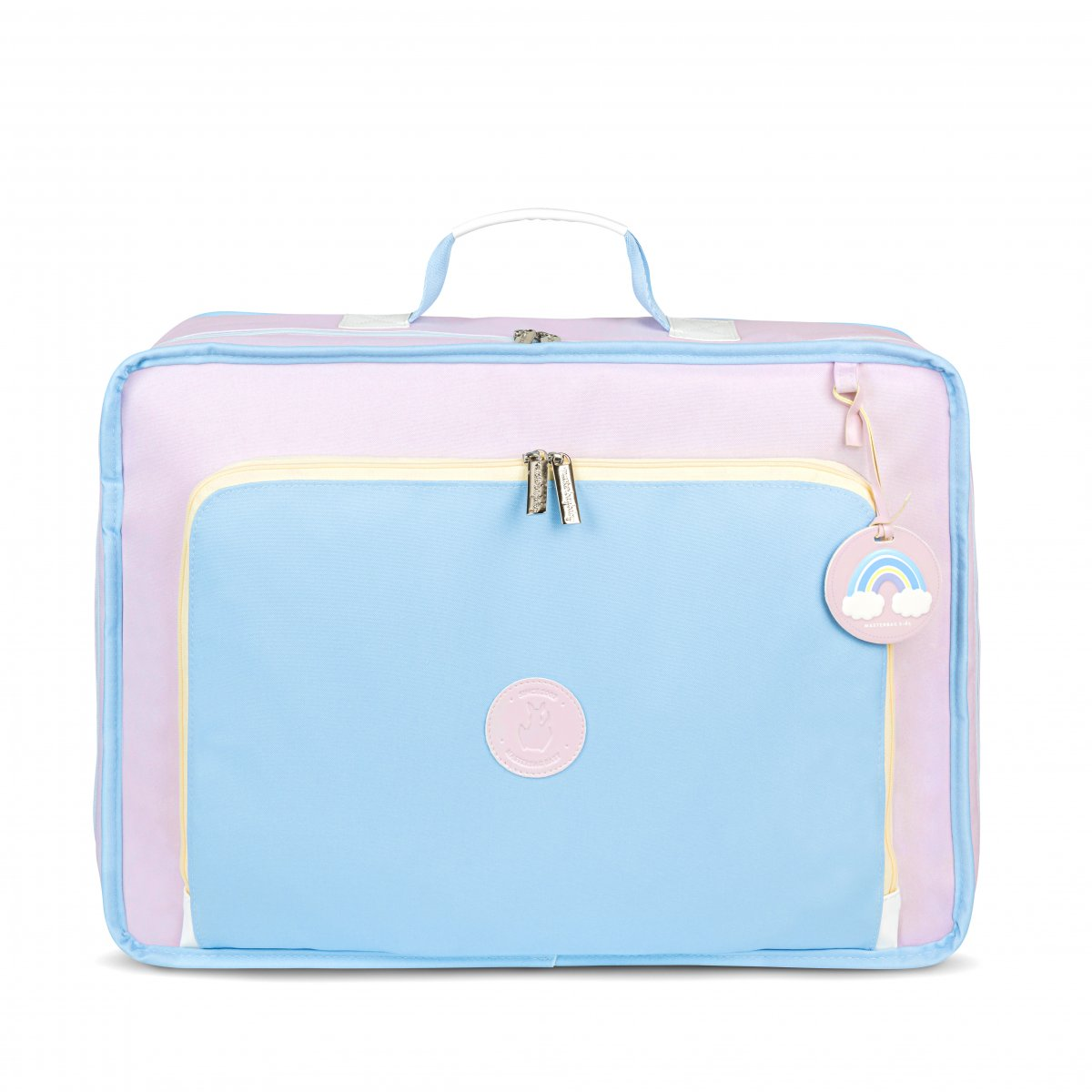 Mala Maternidade Vintage Colors Masterbag Azul