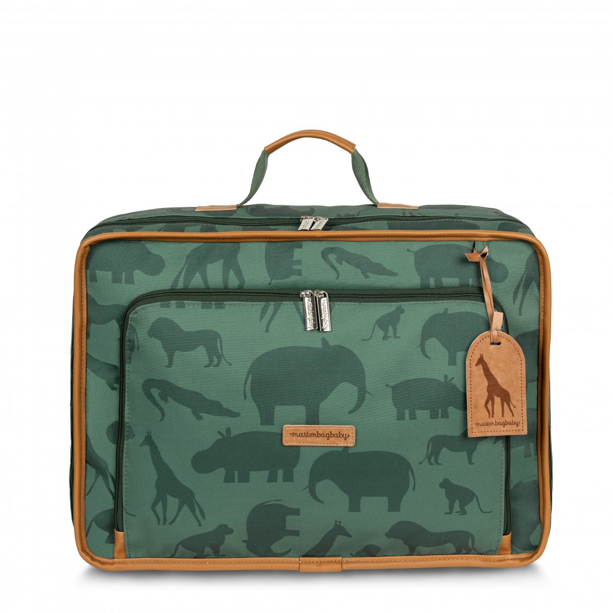 Mala Maternidade Vintage Safari Masterbag Verde
