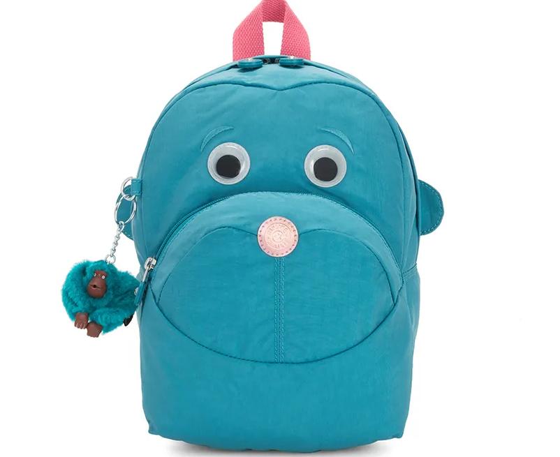 Mini Mochila Infantil Kipling Faster Turquoise Sea