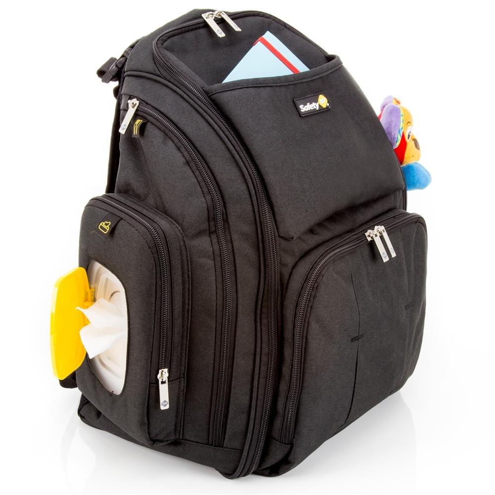 Mochila Maternidade Back Pack Safety 1st   Cor: Preto