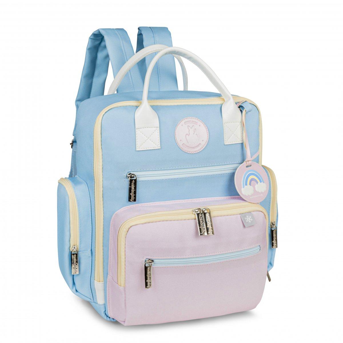 Mochila Maternidade Urban Colors Masterbag Azul