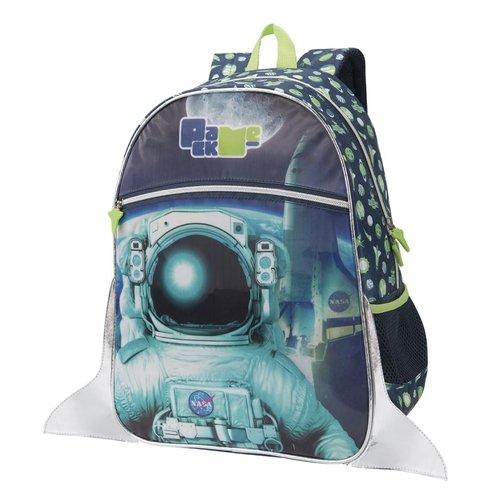 Mochila Pack Me Astronauta Nasa | Cor: Azul