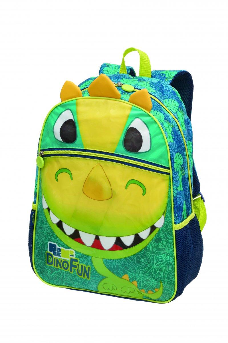 Mochila Pack Me Dino Fun | Cor: Verde