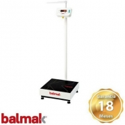 Balança Digital Antropométrica Bk-200fan 200kg Balmak