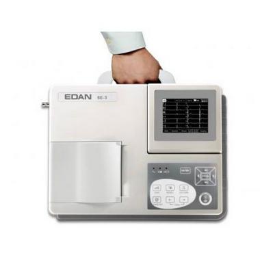 Eletrocardiógrafo 3 Canais e 12 Derivações Simultâneas - SE-3B - Edan