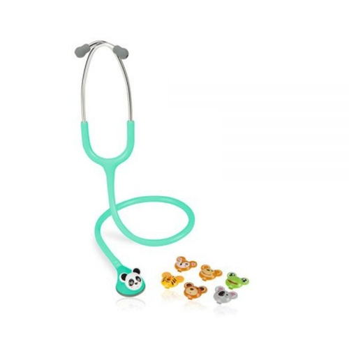 Estetoscópio Spirit - MD Master Lite (Fun Animal) Pediátrico Verde