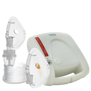 Inalador Nebulizador Bivolt Nebcom V Branco G-Tech