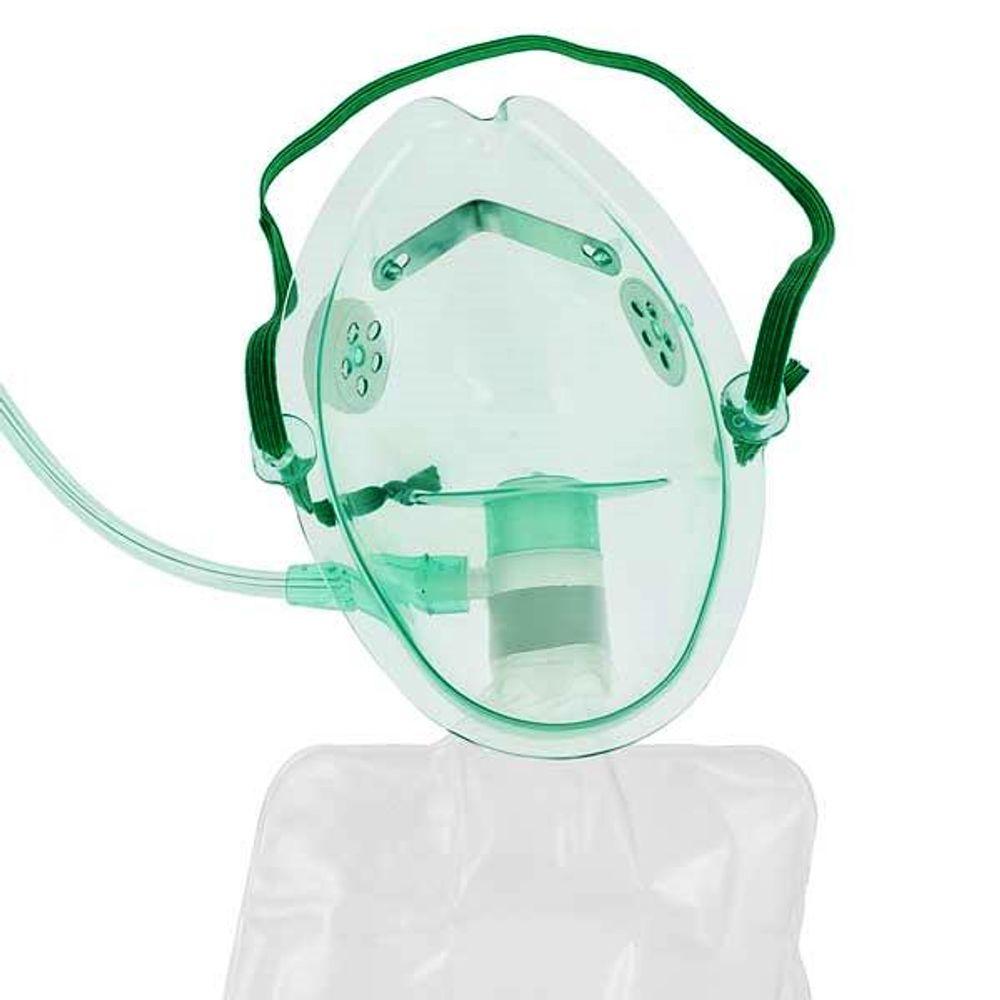 Máscara alta concentração com reservatório