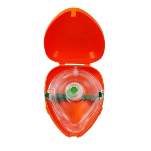Máscara De Oxigênio Pocket Com Válvula, Filtro E Estojo Hr-8880a - Md