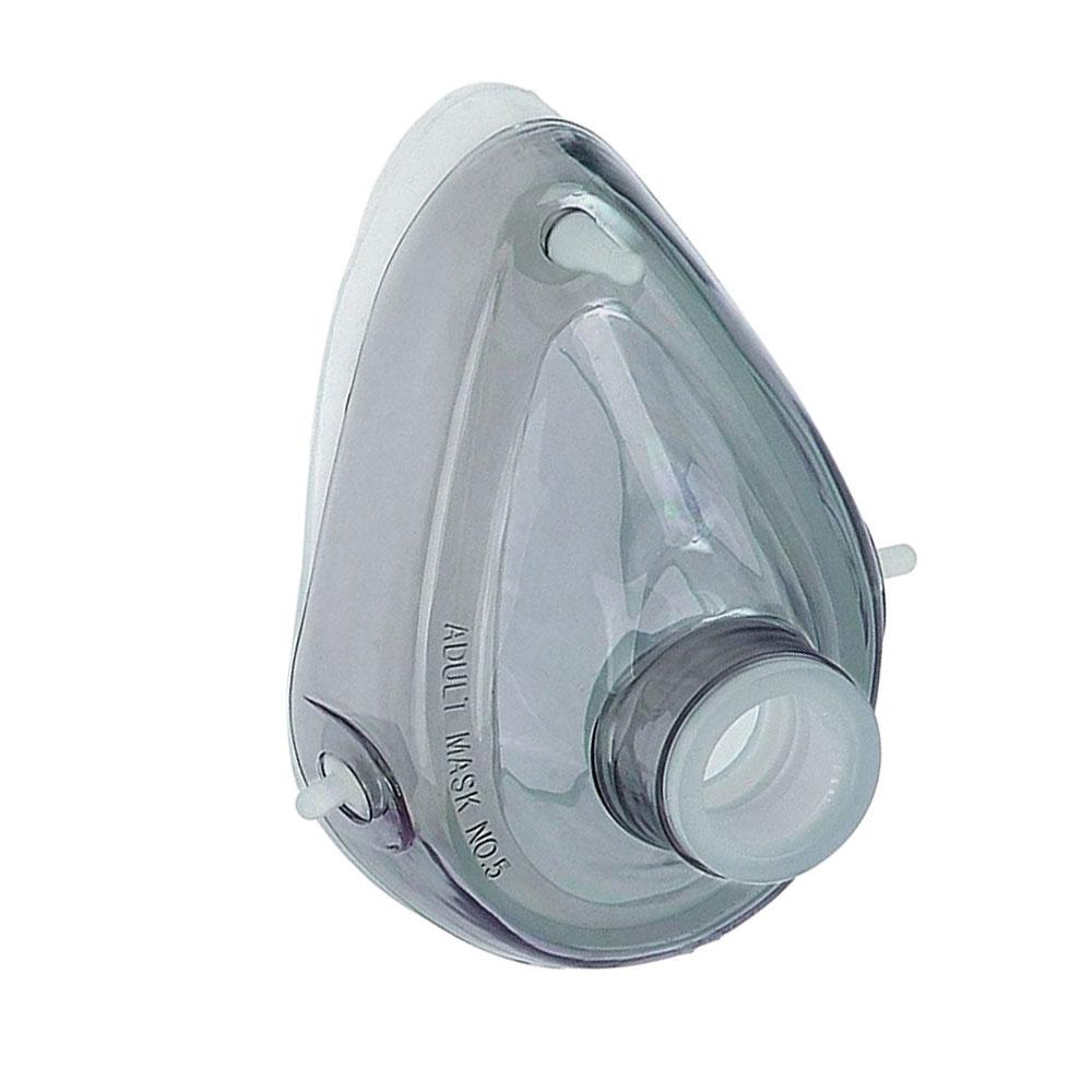 Máscara de Silicone MD com Cúpula para Reanimador Manual Adulto nº5