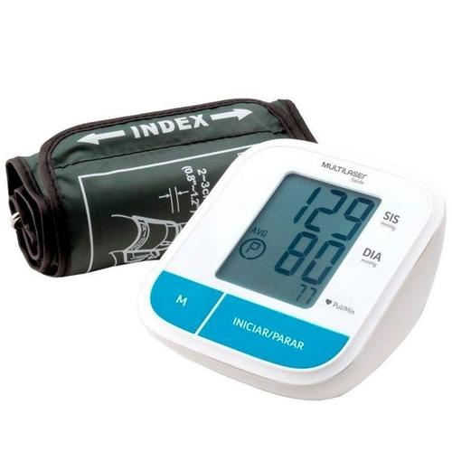 Monitor de Pressão Multilaser Arterial de Braço Silencioso - HC206