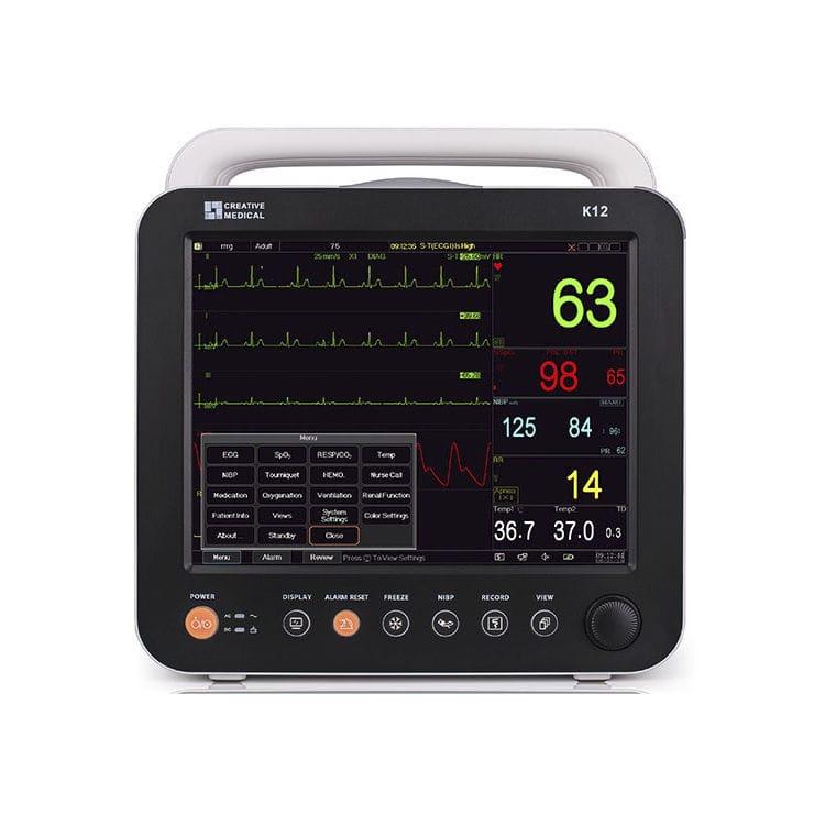Monitor multiparamétrico de ECG K12