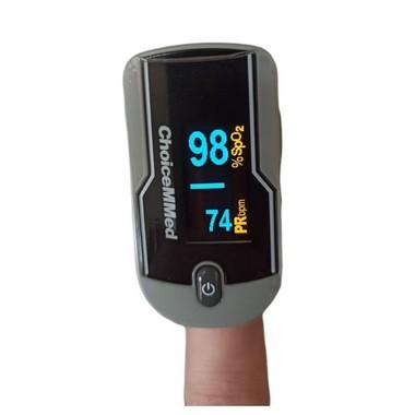Oxímetro de Pulso de Dedo Com Onda e Tela Rotacional