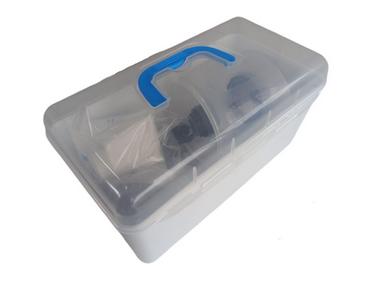 Reanimador Manual Reutilizável Pediátrico Com Maleta (Ambu)