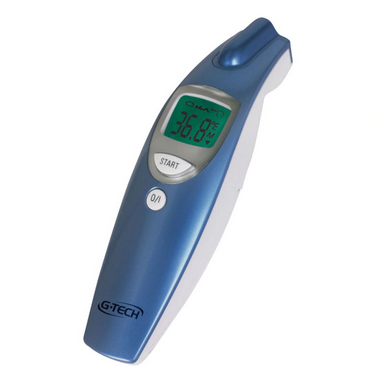 Termômetro Digital de Testa Sem Contato G-Tech THGTSC1 - Azul/Branco