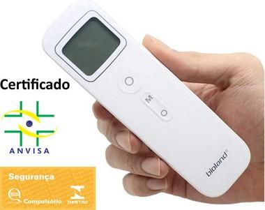Termômetro Infravermelho medição na Testa E127 Bioland
