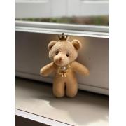 Acessórios-  Ursinhos em Pelúcia Personalizado (DOURADO)