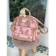 Bolsa Pequena -  Ternura Rosa