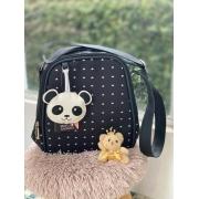 Frasqueira -  Panda Preto