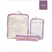 Kit Organizador - Arco Íris -Lilás