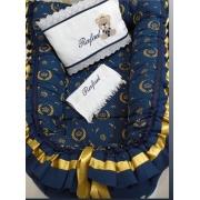 Ninho - Coroa Azul Dourado