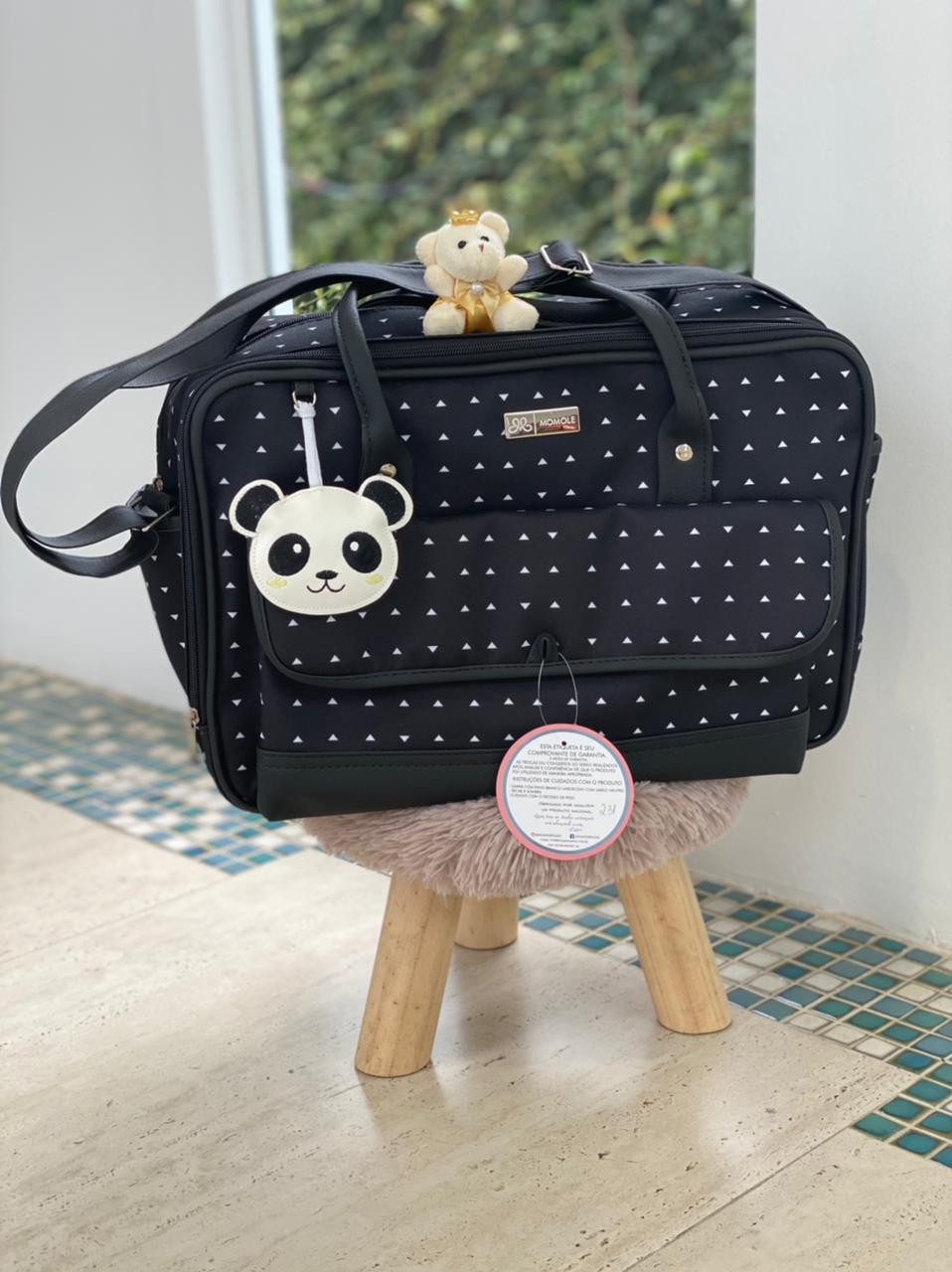 Bolsa Média - Panda Preto