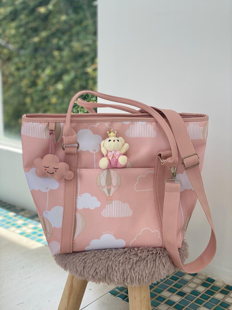 Bolsa Passeio - Balão Rosa