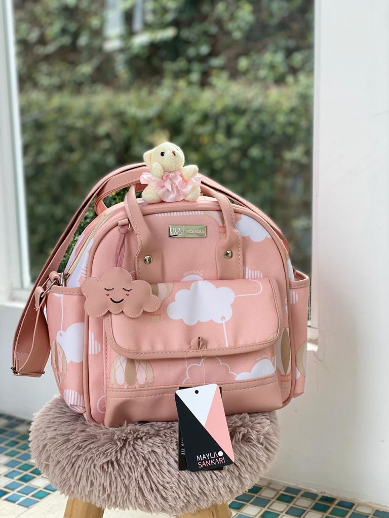 Bolsa Pequena -  Balão Rosa