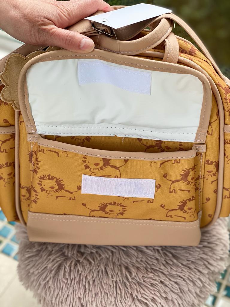 Bolsa Pequena -Leão